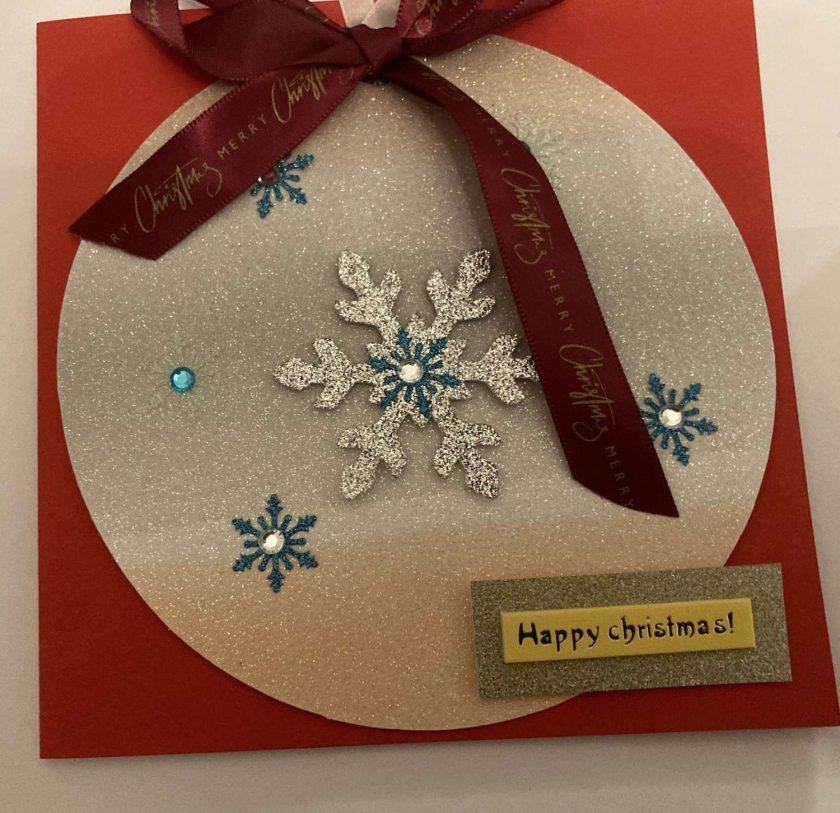 Hand made Christmas Cards set of 3 / free p.p 6