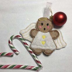 Gingerbread Angel - Christmas Ornament