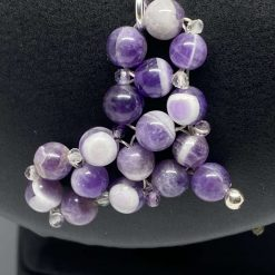 Amethyst Heart Pendant & 925 Sterling Silver Necklace 5