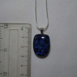 Dichroic Glass Pendant #945 5