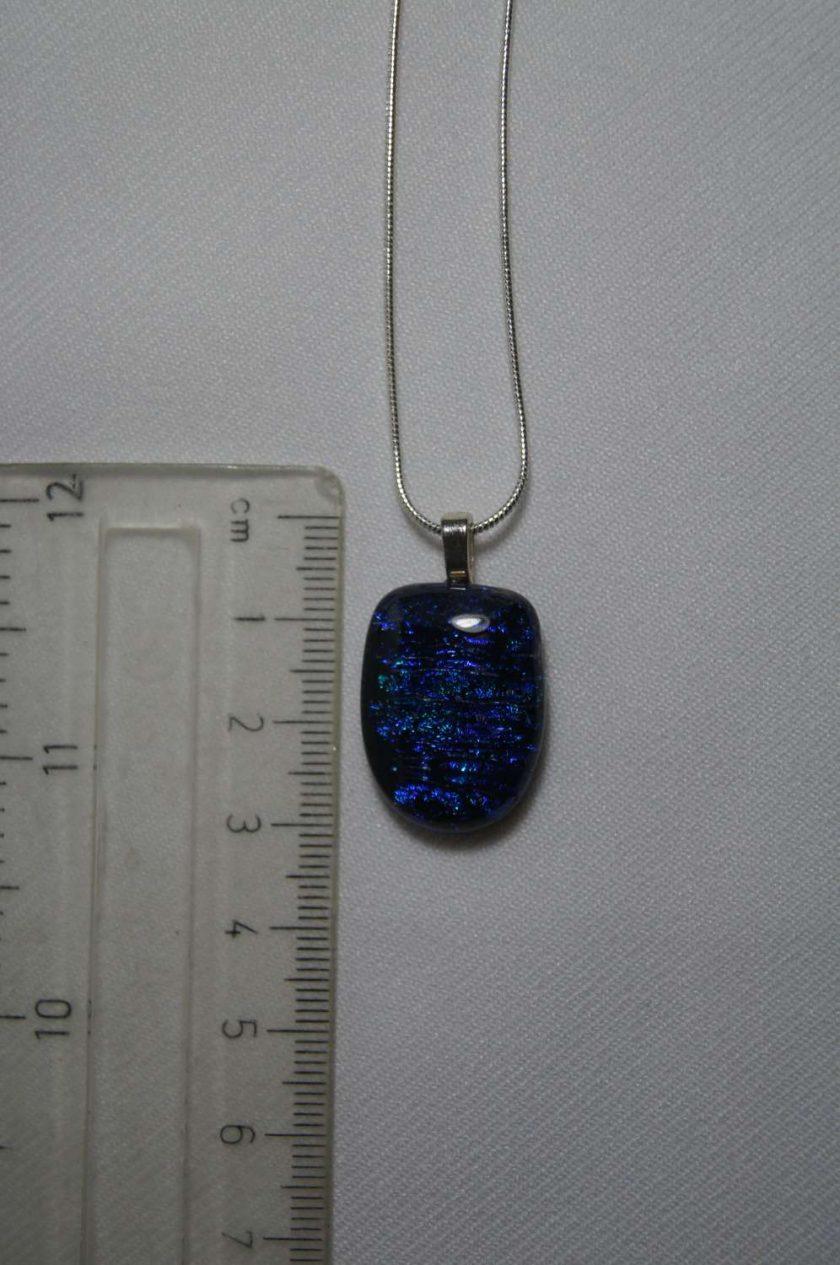 Dichroic Glass Pendant #945 3