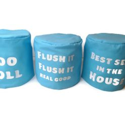 toilet roll holder, toilet roll cover, toilet humour, (loo roll) 5