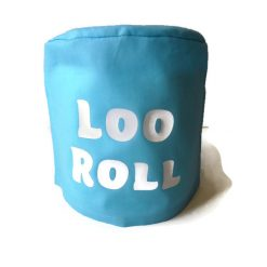 toilet roll holder, toilet roll cover, toilet humour, (loo roll) 6