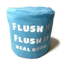 toilet roll cover, toilet roll storage, (flush it real good) 6