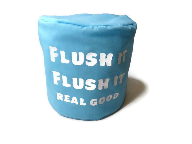 toilet roll cover, toilet roll storage, (flush it real good) 1