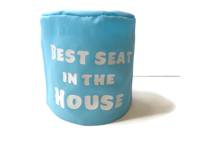 toilet roll cover, toilet roll storage, (best seat in the house) 2
