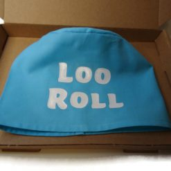 toilet roll holder, toilet roll cover, toilet humour, (loo roll) 7