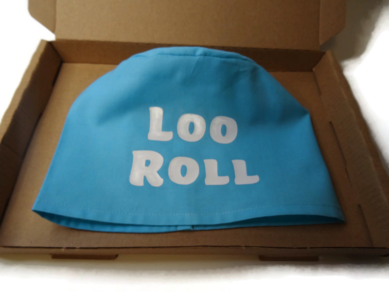 toilet roll holder, toilet roll cover, toilet humour, (loo roll) 4