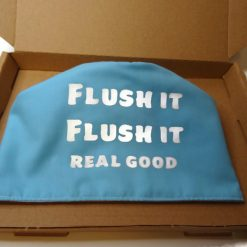 toilet roll cover, toilet roll storage, (flush it real good) 5