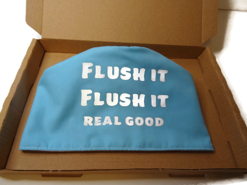 toilet roll cover, toilet roll storage, (flush it real good) 2