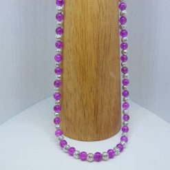 light purple necklace 3