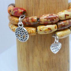 Tibetan wood beads bracelet 3