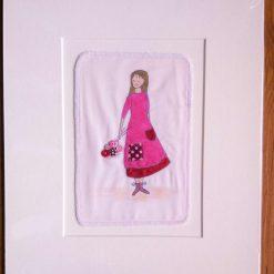Hermione - textile art