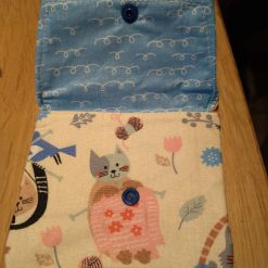 Medium knitting cat purse 4