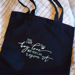 (old)'Cat days are the best days' Cotton tote bag