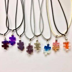 Puzzle piece pendants
