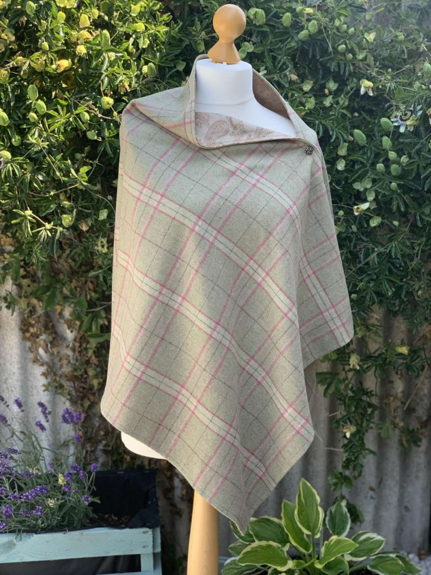 Wool Wrap/Poncho 1