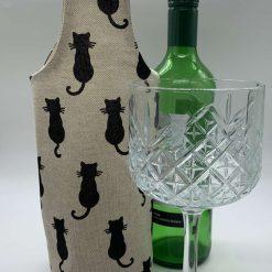 Bottle Gift Bag  (Cats)