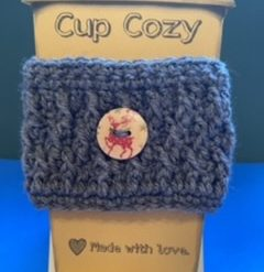 Crochet Coffee Cup Cozy/Cosy