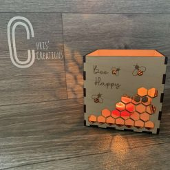 Bee candle box