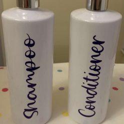 Shampoo & Conditioner Pump Dispenser Bottles
