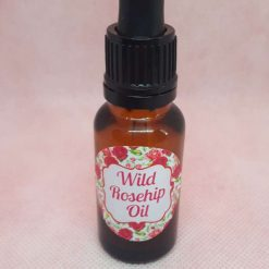 Wild rosehip oil with sweet almond oil base 20ml bottle