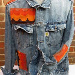 Upcycled Retro Denim Jacket 6