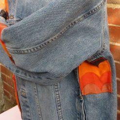 Upcycled Retro Denim Jacket 7