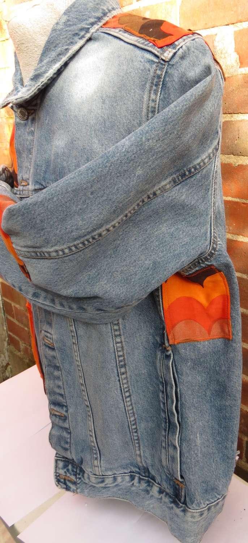 Upcycled Retro Denim Jacket 4