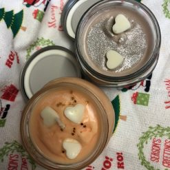 Hand poured SOYA WAX CANDLE in a reusable mason jar (100g approx) GingerBread 11