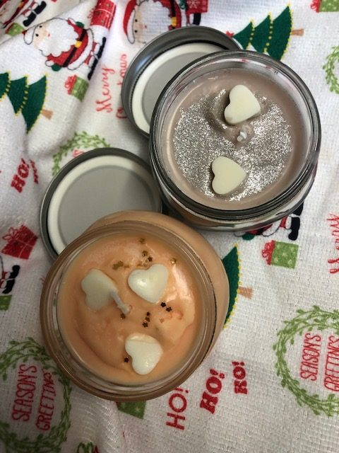 Hand poured SOYA WAX CANDLE in a reusable mason jar (100g approx) GingerBread 6