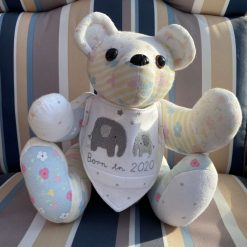 Memory bear (Made to order) free postage.
