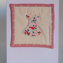 Quilted Pretty Dress Mini Quilt