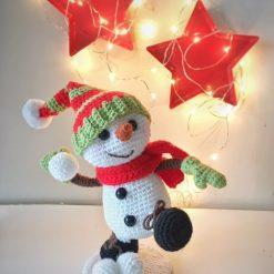 Crochet Patterns: Cheeky Little Snowman