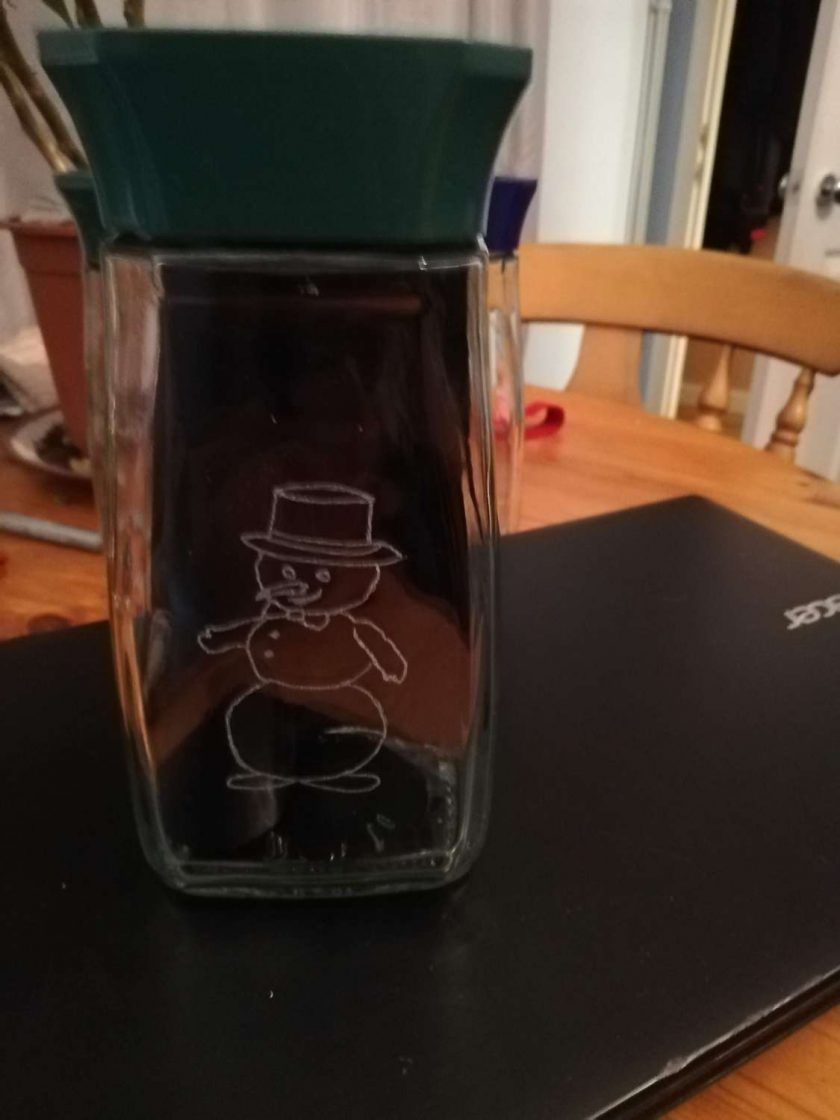 Christmas Jar of Sweets 7