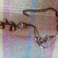 Long Agate And Forest Jasper Necklace 1