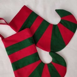 Beautiful Elf boot shape Christmas stocking