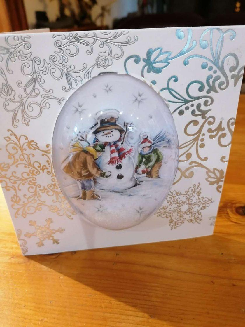 Snow Globe Cards 1