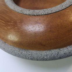 "Iroko 9"" domed bowl 2"