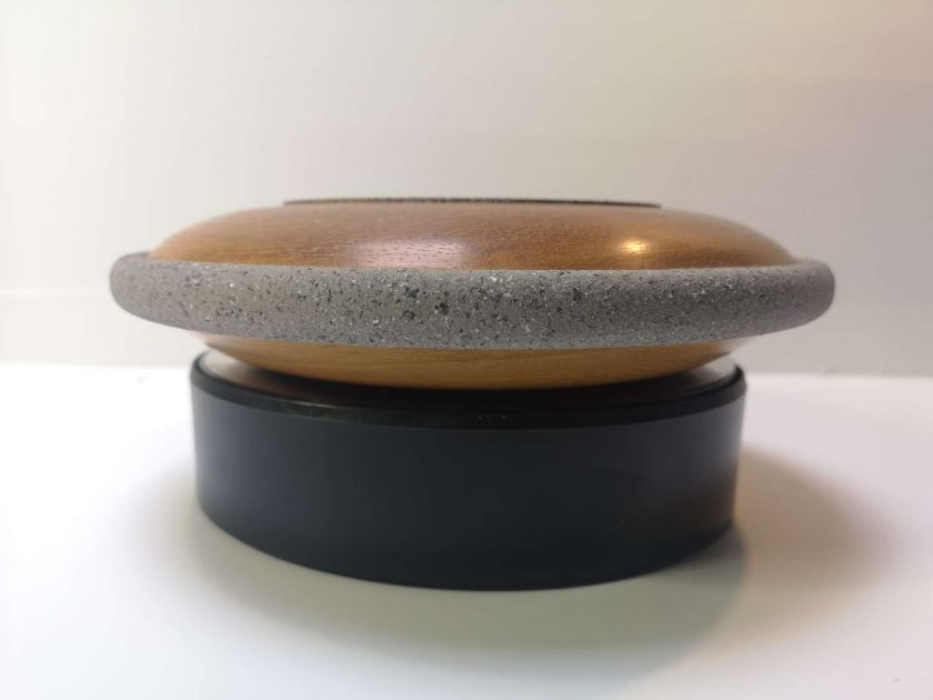 "Iroko 9"" domed bowl"
