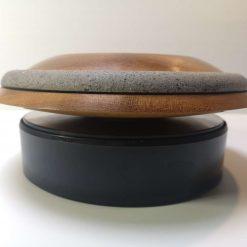"""Iroko 9"""" planetary style bowl 2"""