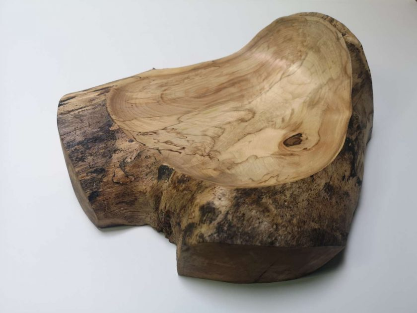 Birch Crotch Bowl