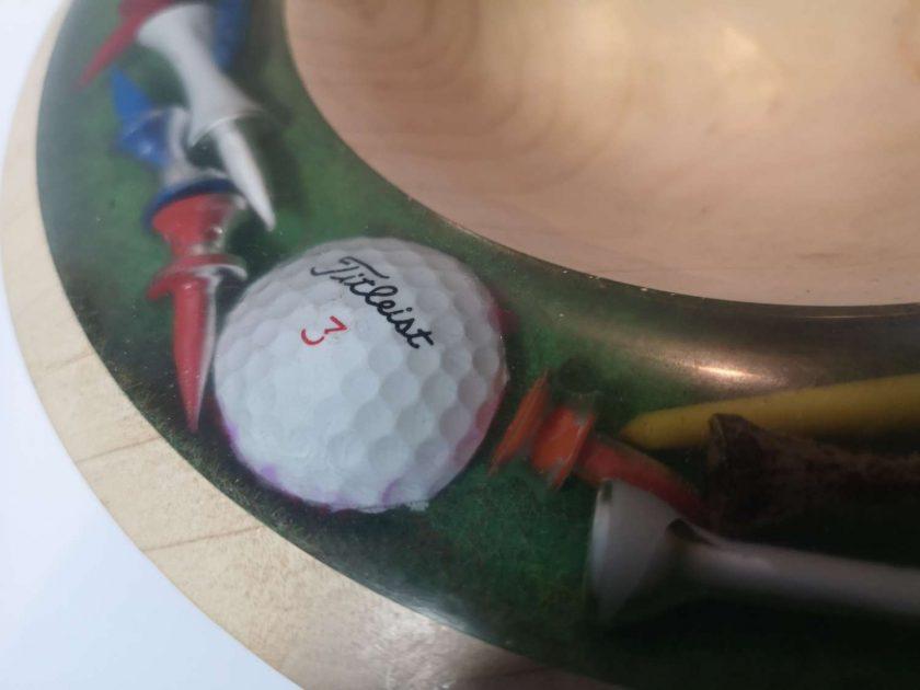 Golf themed Bowl