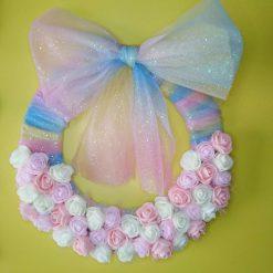 Floral Shimmering wreath