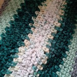 Crochet Cowl Multi - Green 3