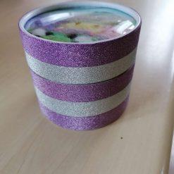 Trinket box with needle felted lid 4