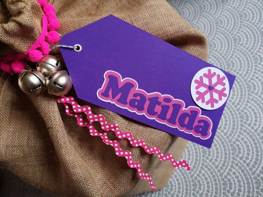 Personalised Large Gift Tag 5