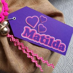 Personalised Large Gift Tag 11