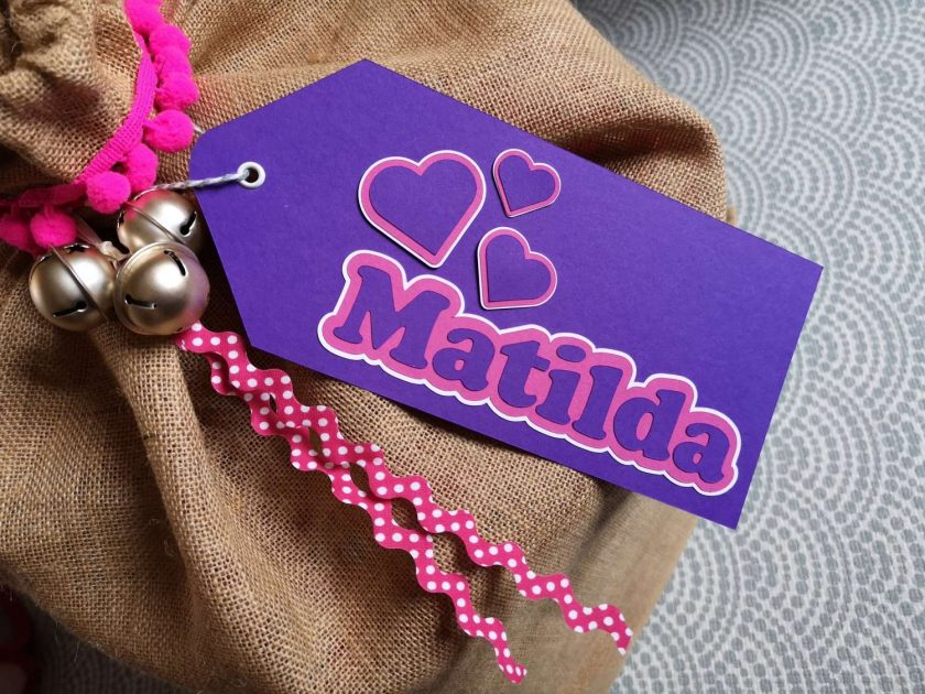 Personalised Large Gift Tag 3
