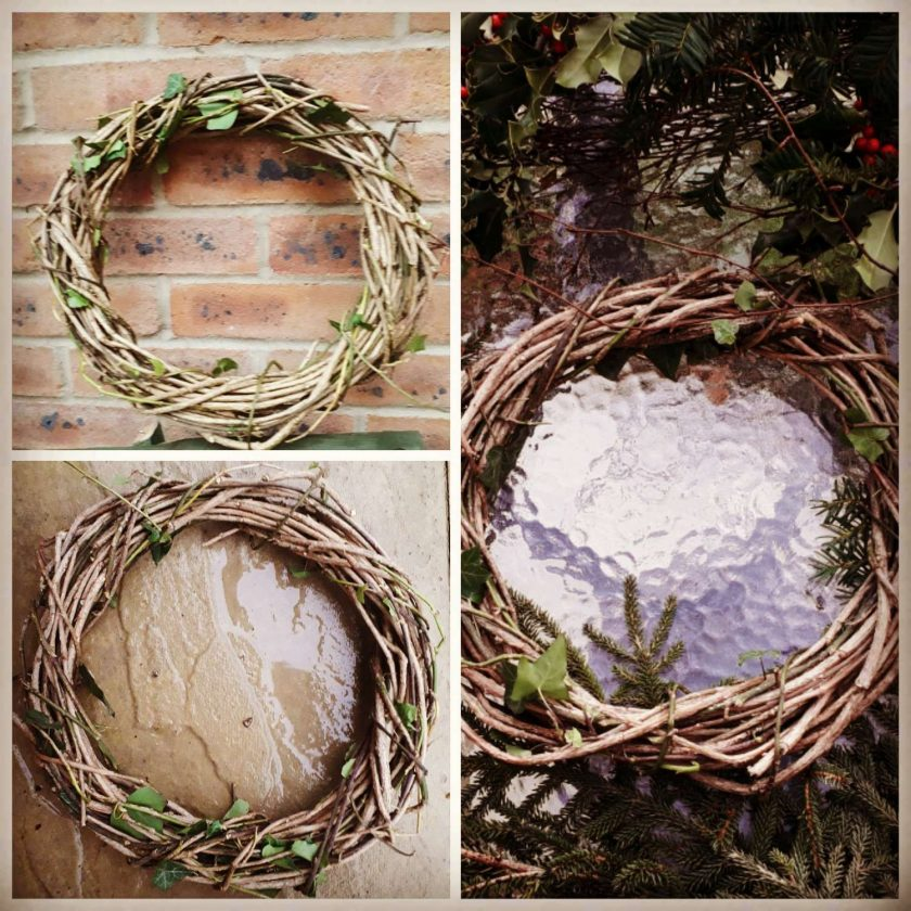 NATURAL WILLOW/IVY WREATHS FOR SALE 1